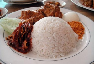 Rice is a staple food in many Muslim diets